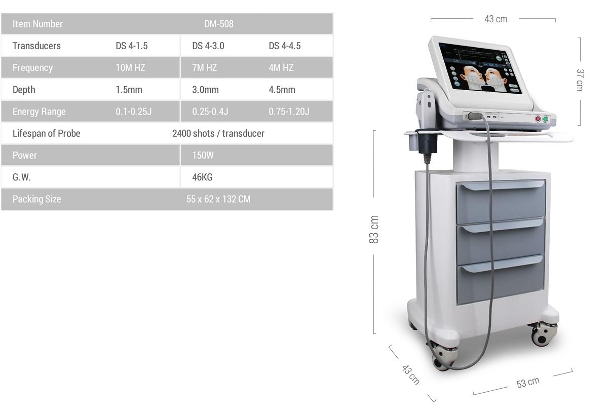 hifu ultherapy machine