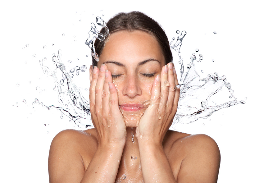 Skin cleansing is not complete = Chronic disfigurement !!!