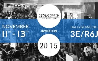 5 Reasons To Visit Dimyth At COSMOPROF Asia Hong Kong 2015