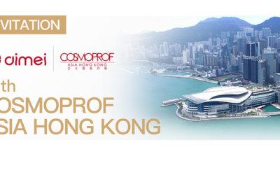 INVITATION FROM COSMOPROF ASIA HONG KONG